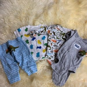 Baby Dinosaur Clothes sizes 0-3 months